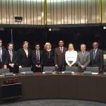 Cláudia Monteiro de Aguiar reúne com Comissários Europeus