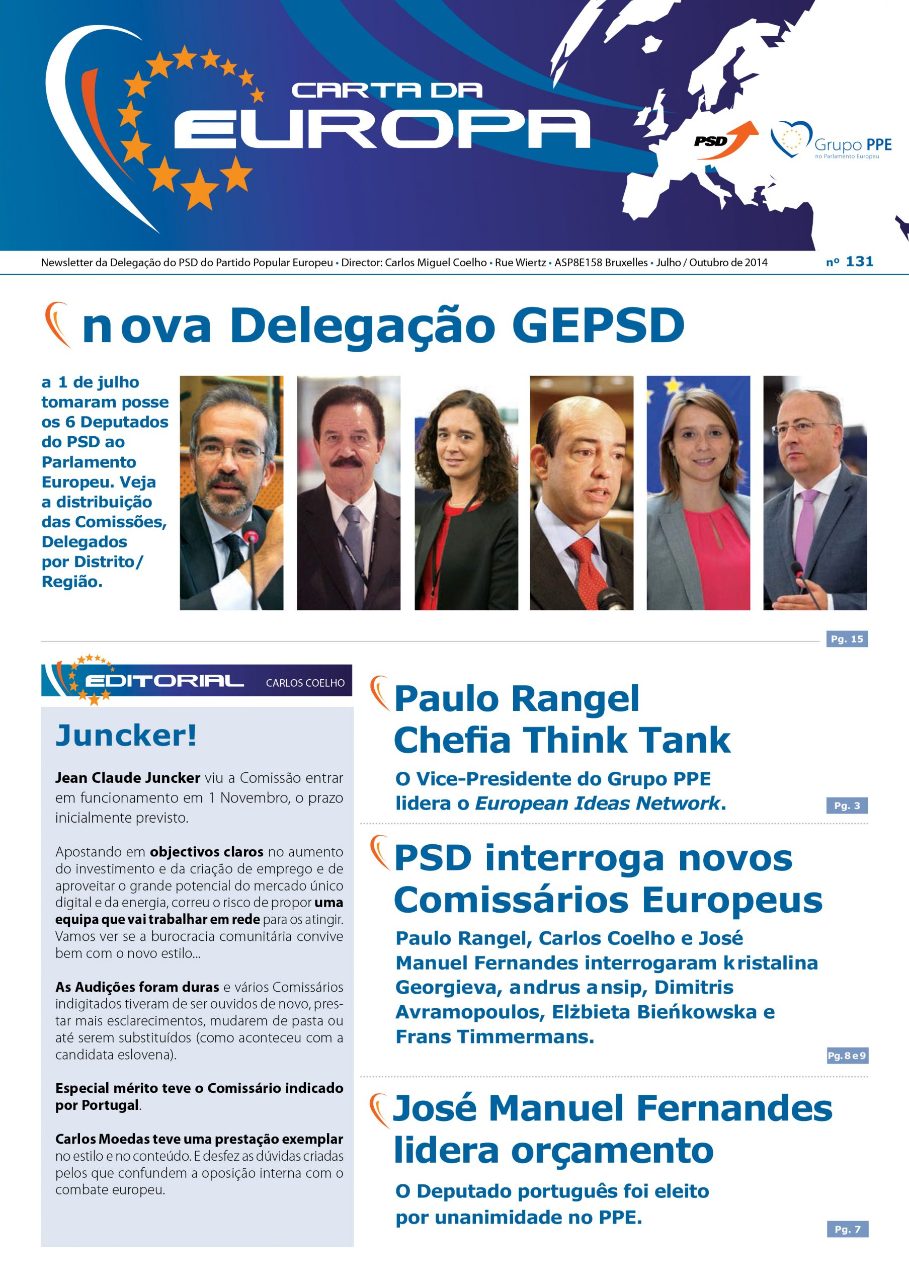 Carta da Europa Nº 131 July/October 2013
