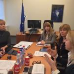 Cláudia Monteiro de Aguiar reúne com Comissária Bienkowska