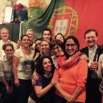 Cláudia Monteiro de Aguiar celebra o dia de Portugal junto da  Comunidade Portuguesa de Estrasburgo