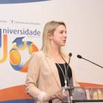 Cláudia Monteiro de Aguiar foi Reitora na Universidade J 2015