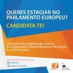 Estágio no Gabinete da Eurodeputada Cláudia Monteiro de Aguiar