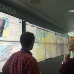 Cláudia Monteiro de Aguiar visita Agência Europeia para a Segurança Marítima